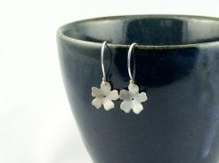 silver cherry blossom earrings €25.50