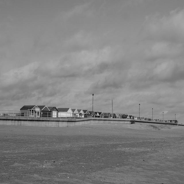 beach huts, lincolnshire coast