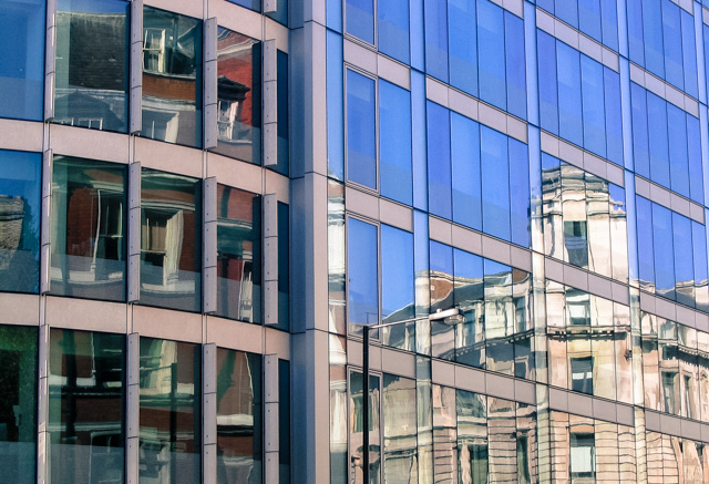 office windows, london