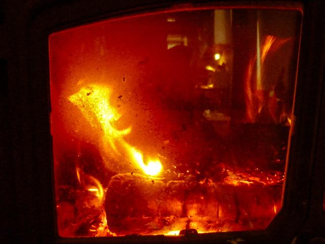 woodburner