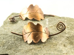 medium copper oak leaf grip €25