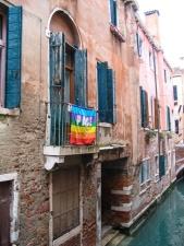 peace flag, Venice