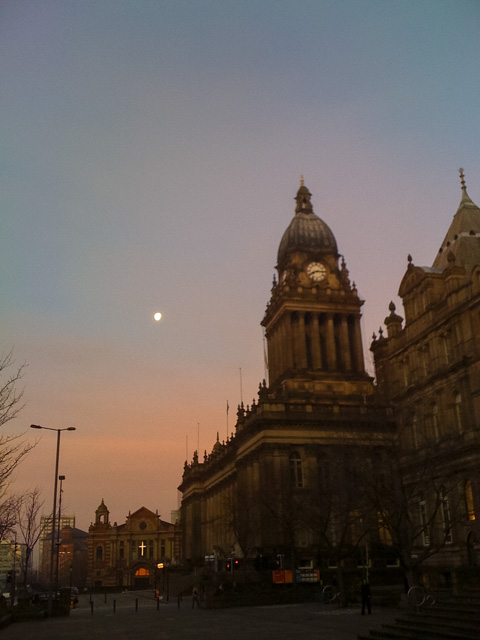 Leeds Town Hall, Central Library & Art Gallery