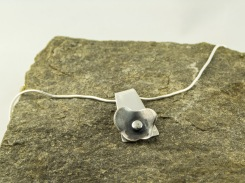 silver cherry blossom necklace €44