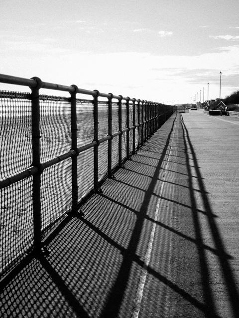 deserted promenade