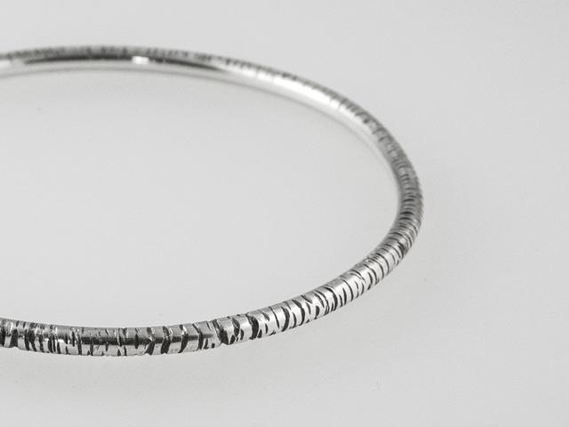 silver birch bangle