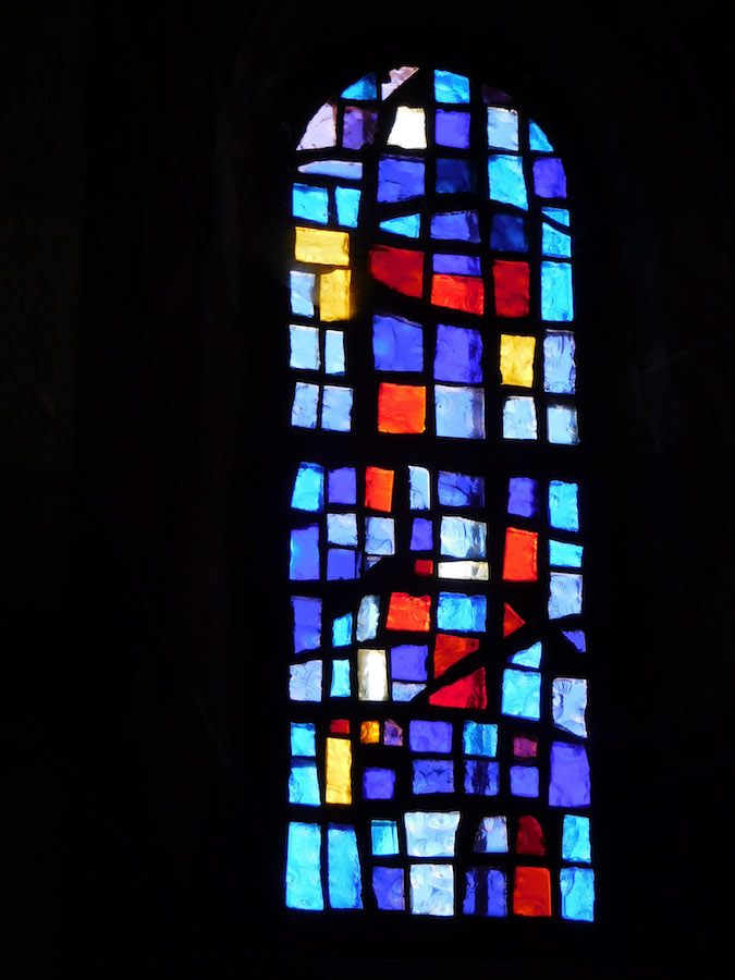 stained glass window, Bournoncle-Saint-Pierre