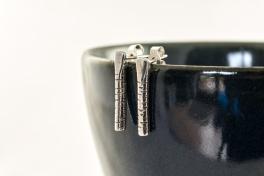 Silver Birch Post Earrings