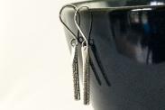 Silver Birch Drop Earrings