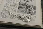Silver Birch Toggle Clasp Bracelet