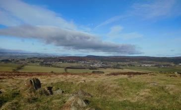Rothbury from Simonside Hills