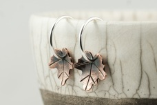 maple leaf earrings